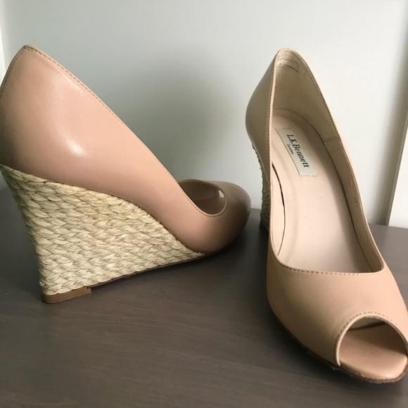 e97aed9013fc LK Bennett Shoes - L.K.Bennett Estela Peep Toe Espadrille Pumps